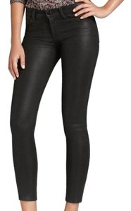 J Brand Coated Leatherette Fauxleather Skinny Jeans-Coated