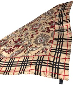Burberry AUTHENTIC Burberry 100% Silk Scarf - Classic Check