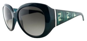 Fendi Fendi Navy Sunglasses Grey Gradient Lens