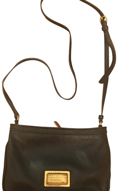 Marc by Marc Jacobs Classic Black Leather Cross Body Bag Marc by Marc Jacobs Classic Black Leather Cross Body Bag Image 1