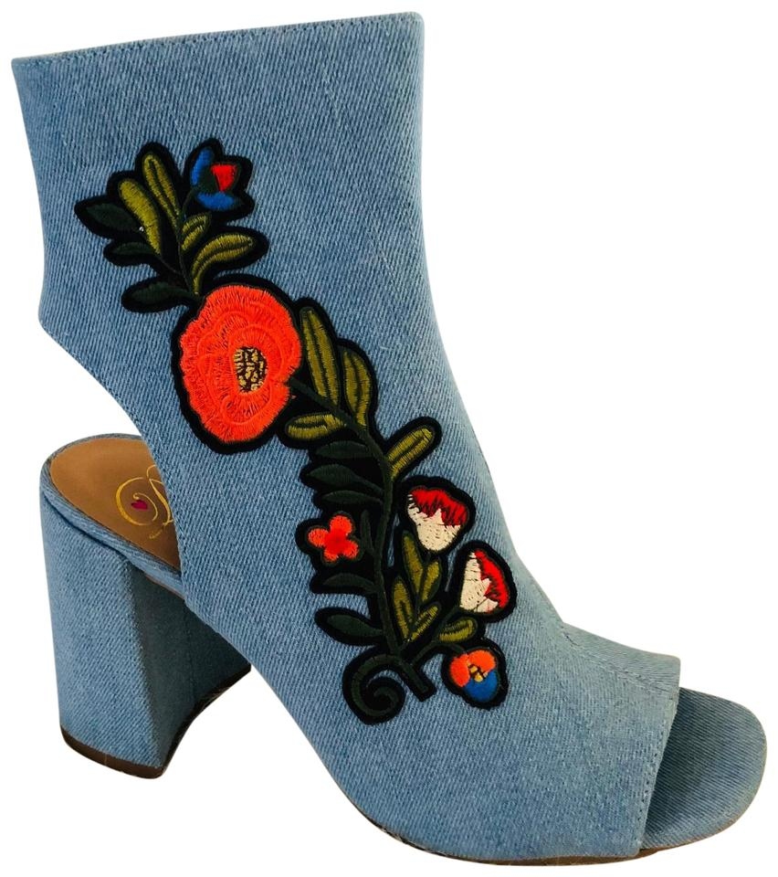 womens Blue Delicious Blue womens Helen Boots/Booties Excellent value e4e71f