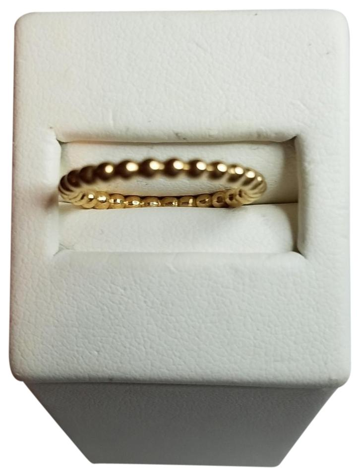 75ada14d9 PANDORA Gold 14k Stackable Bubble Ring - Tradesy
