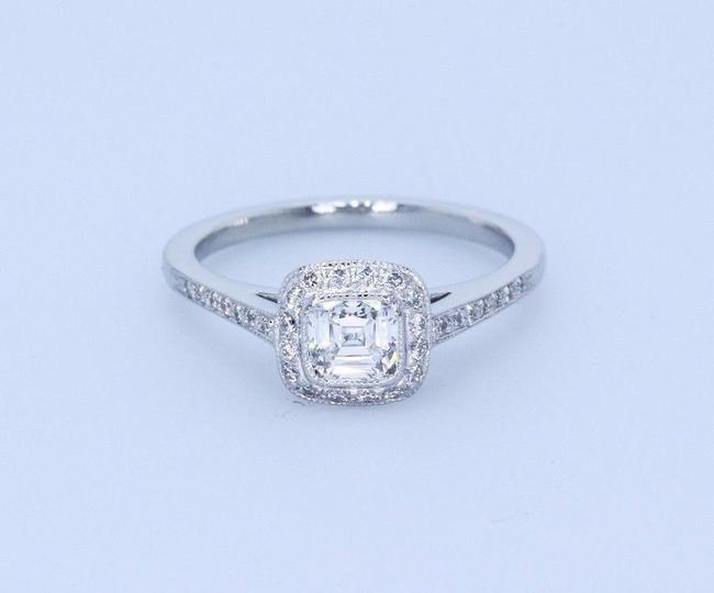 Item - H Vvs1 Legacy 0.66 Carat Cushion Diamond and Platinum Engagement Ring