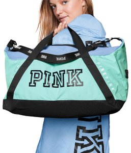 b581b9d56a8 Added to Shopping Bag. Victoria's Secret Tale Travel Bag. Victoria's Secret  Duffle New Limited Edition Pink Tale Polyester Weekend/Travel Bag