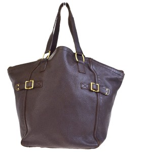 Saint Laurent Made In Italy Tote in Brown