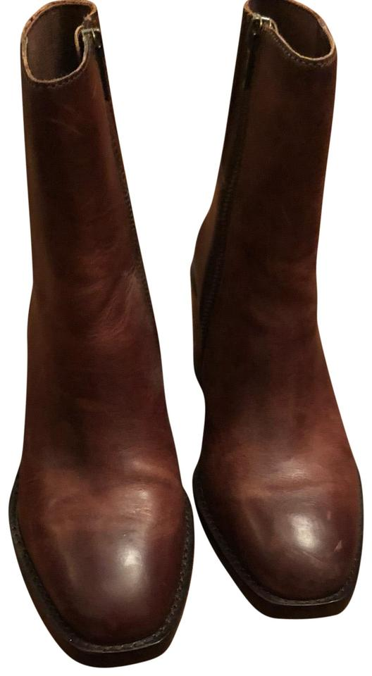 Frye Brown Pia Chelsea Chelsea Pia Short Boots/Booties a204f8