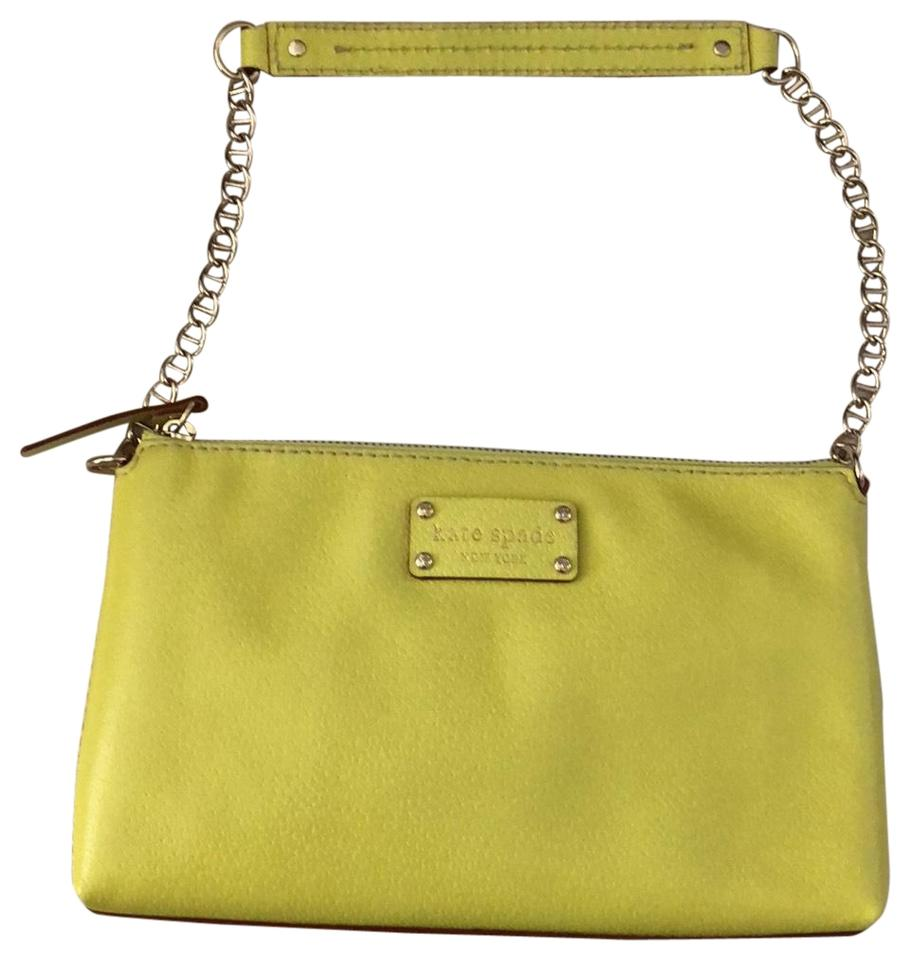 ef5b0bd85861 Kate Spade Bright Yellow Leather Shoulder Bag - Tradesy