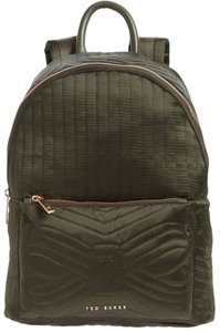 c3c3d4aaa2591 Ted Baker Rugsack Bow Quilted Adjustable Straps Logo Dark Backpack