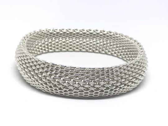 Preload https://img-static.tradesy.com/item/24069232/tiffany-and-co-silver-co-t-and-co-sterling-somerset-mesh-bangle-bracelet-0-0-540-540.jpg