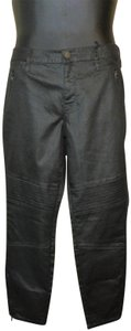 a.n.a. a new approach Coated Mid Rise Jeggings-Coated