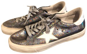 Golden Goose Deluxe Brand Silver Athletic