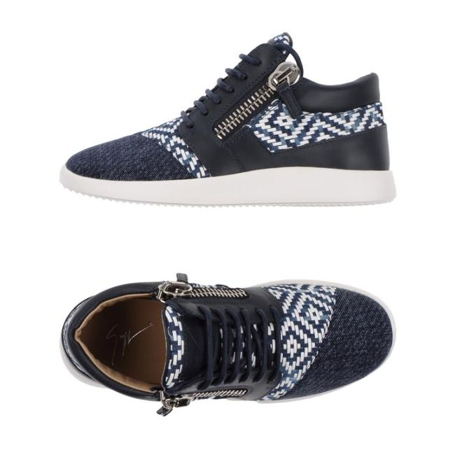 Item - Blue White New Sneakers Size EU 37.5 (Approx. US 7.5) Regular (M, B)