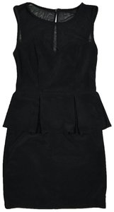 Bisou Bisou short dress black on Tradesy