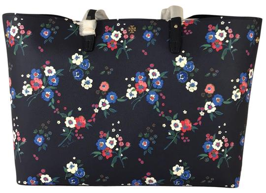 Preload https://img-static.tradesy.com/item/24069664/tory-burch-kerrington-square-pansy-bouquet-tote-0-1-540-540.jpg