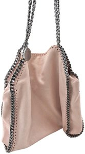 Stella McCartney Falabella Shaggy Deer Faux Leather Tote in Blush