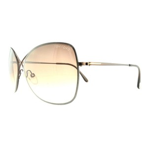 b0d61e6aeb Tom Ford Butterfly Style Women s FT0250 48F 63 Brown Gradient Lens  Sunglasses