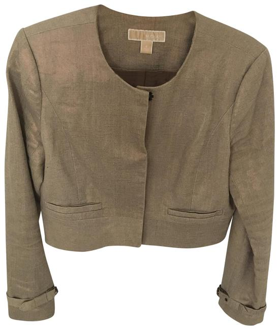 Preload https://img-static.tradesy.com/item/24069735/michael-michael-kors-goldkhaki-with-hidden-snap-buttons-blazer-size-8-m-0-1-650-650.jpg