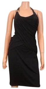 Rachel Roy Signature Lbd Sheath Halter Dress