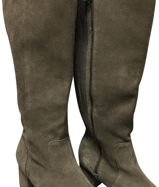 Item - Grey Suede Boots/Booties Size US 11 Extra Wide (Ww, Ee)