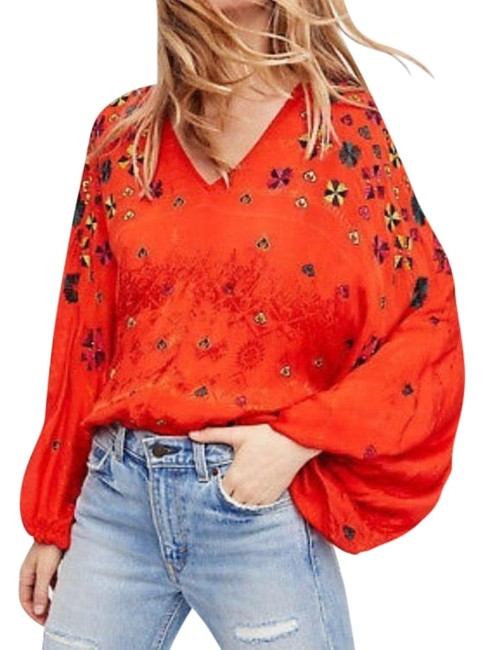 Preload https://img-static.tradesy.com/item/24070013/free-people-multiple-blouse-size-4-s-0-1-650-650.jpg