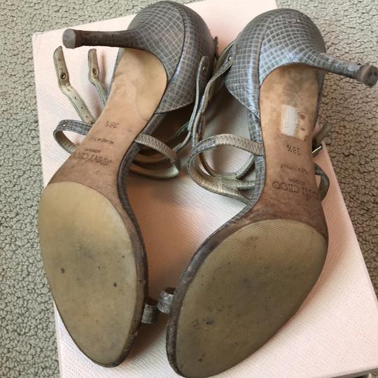 Jimmy Choo Taupe Sandals