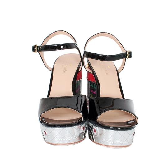 Kate Spade Taco Truck Dora Size 6 1/2 New Multi Color Wedges