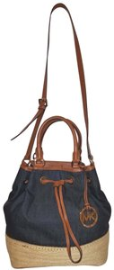 Michael Kors Extra-large Denim Excellent Condition Like New Hobo Bag