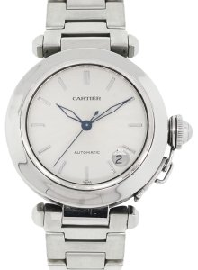 Cartier Cartier 1031 Pasha C Silver Dial Stainless Steel Watch