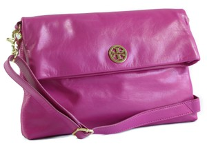 Tory Burch Tote Satchel Robinson Handbag Pink Messenger Bag