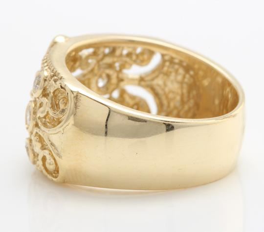 Other .20CTW Natural VS2 DIAMONDS in 14K Solid Yellow Gold Ring