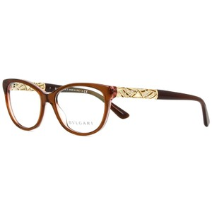 BVLGARI Cat Eye Style Unisex BV4126B 5401 Demo Customisable Lens Eyeglasses