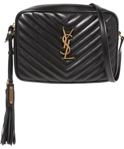 Saint Laurent Monogram Lou Leather Shoulder Bag