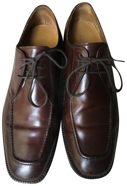 Item - Brown Men's Dress Leather Oxford Laceup Formal Shoes Size US 9.5 Regular (M, B)