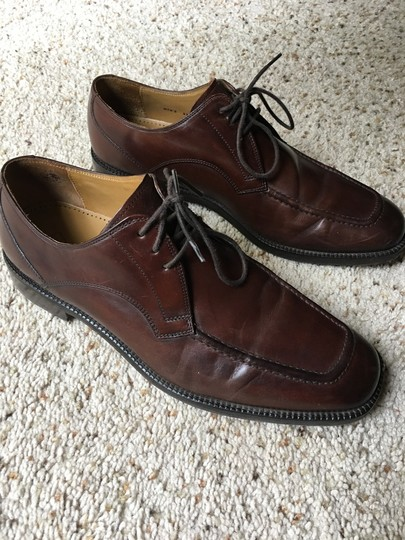 Cole Haan Lace Up Dress Brown Formal