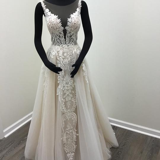 Preload https://img-static.tradesy.com/item/24070530/calla-blanche-ivorynude-lace-tulle-17254-odelia-traditional-wedding-dress-size-8-m-0-0-540-540.jpg