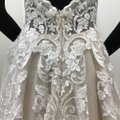 Calla Blanche Ivory/Nude Lace Tulle 17254 Odelia Traditional Wedding Dress Size 8 (M) Calla Blanche Ivory/Nude Lace Tulle 17254 Odelia Traditional Wedding Dress Size 8 (M) Image 8