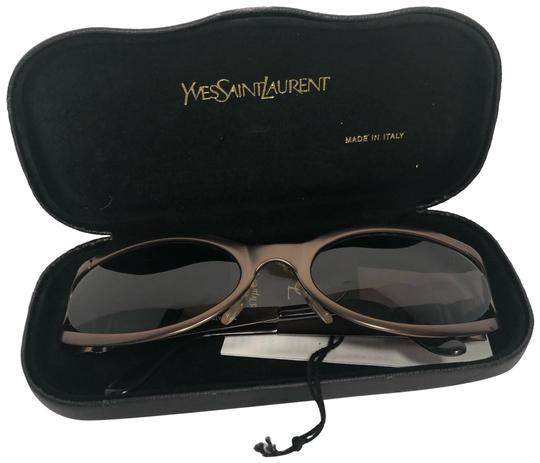 Preload https://img-static.tradesy.com/item/24070539/saint-laurent-brown-metallic-ysl6072-y387s-sunglasses-0-1-540-540.jpg
