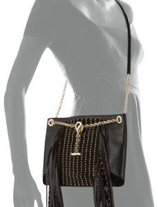 Jimmy Choo Fringe Shoulder Studded Cross Body Bag