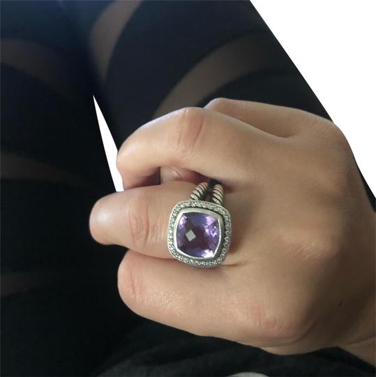 Preload https://img-static.tradesy.com/item/24070696/amethyst-and-silver-with-diamonds-11mm-ring-0-1-540-540.jpg