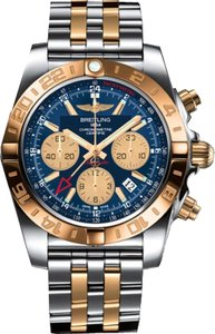 Breitling Breitling Chronomat 44 GMT Steel Gold Automatic Men's Watch CB042012