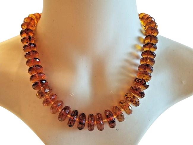 Item - Honey Vintage Transparent Baltic From Russia Necklace