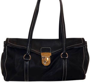 Prada Tessuto Leather Cuoio Shoulder Bag