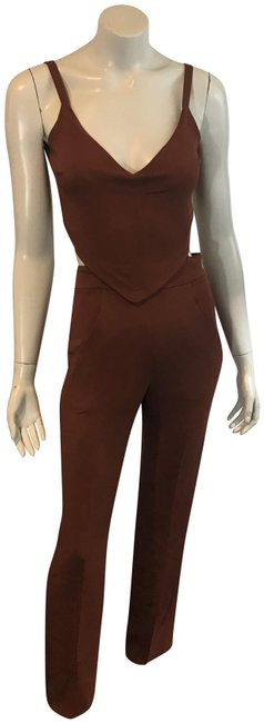 Preload https://img-static.tradesy.com/item/24070838/alc-burnt-orangebrick-10918-orangebrick-cut-out-romperjumpsuit-0-1-650-650.jpg