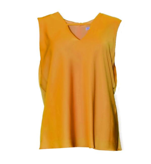 Preload https://img-static.tradesy.com/item/24070844/donna-degnan-amber-v-neck-blouse-size-14-l-0-0-650-650.jpg