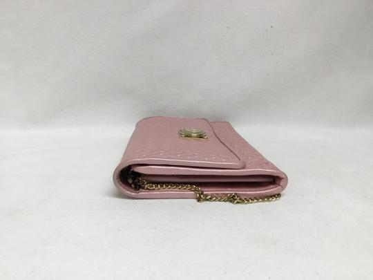 Versace Collection Pink Clutch Image 3
