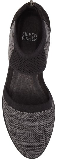 Eileen Fisher Knit Black-Grey Wedges Image 0