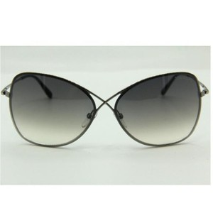 Tom Ford Butterfly Women Sunglasses with Metal Frame Gradient Lens