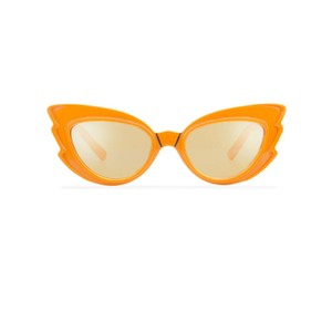 Emma Mulholland Emma Mulholland x Pared Stargazer Sunglasses In Orange
