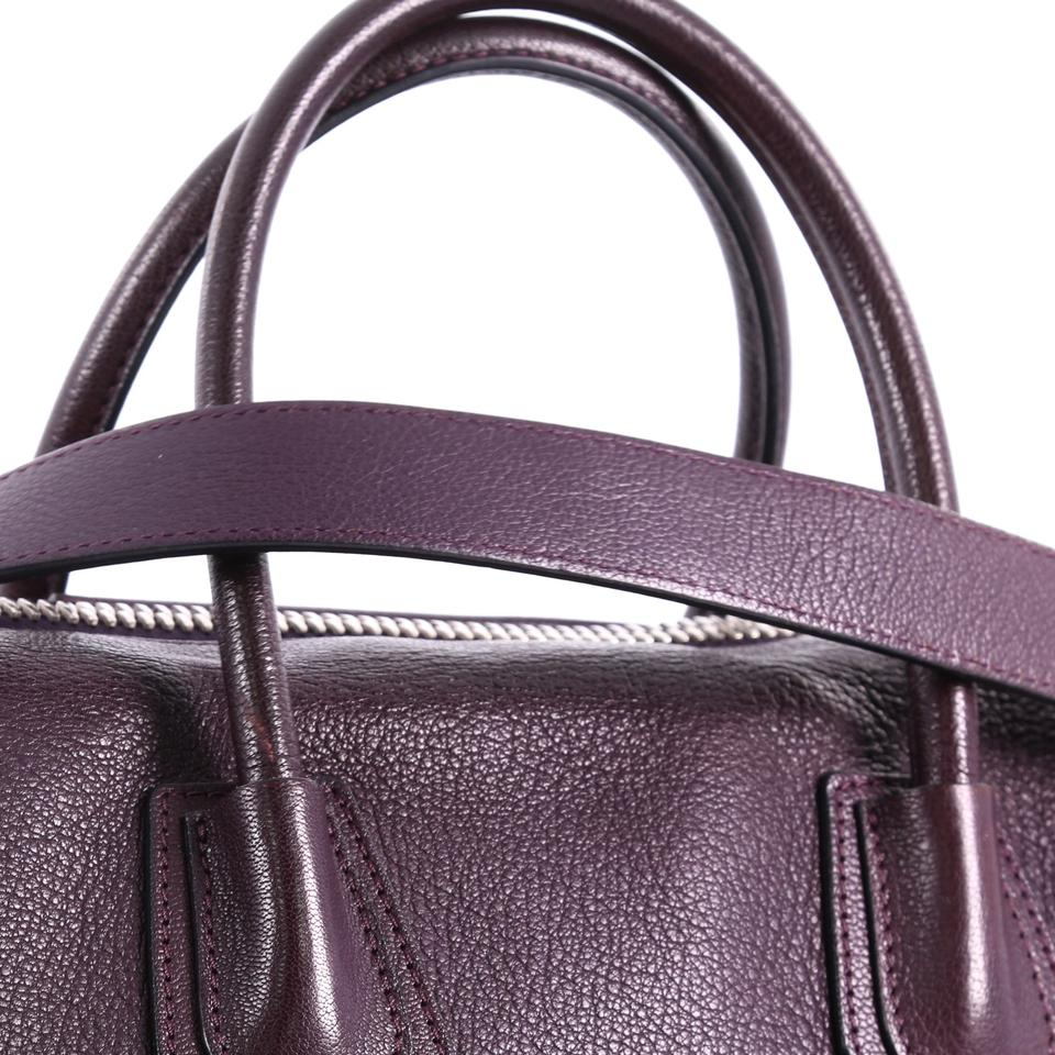 cd20aea4a616 Givenchy Antigona Medium Plum Leather Tote - Tradesy