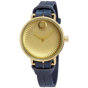 Movado Edge Ladies Leather Watch